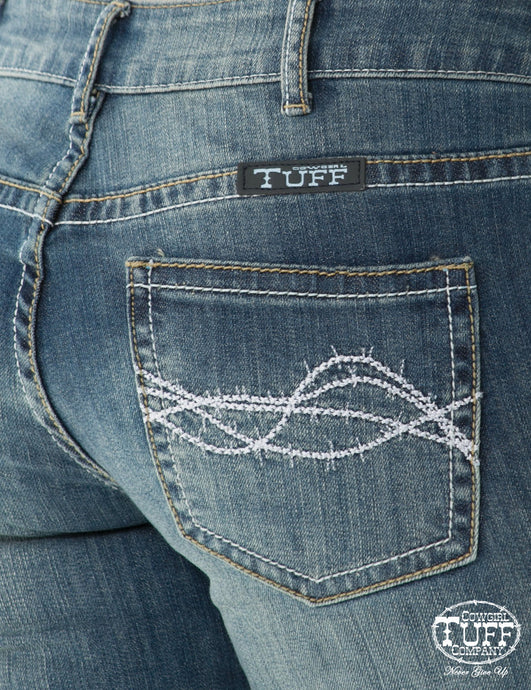 Cowgirl Tuff Don't Fence Me In Women's Jean