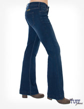 Cowgirl Tuff Just Tuff Trouser Jeans - Dark Wash