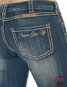 Never Give Up Jeans