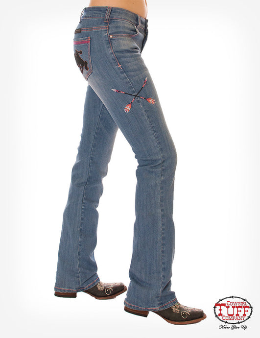Cowgirl Tuff Wild & Wooly Extreme Jeans