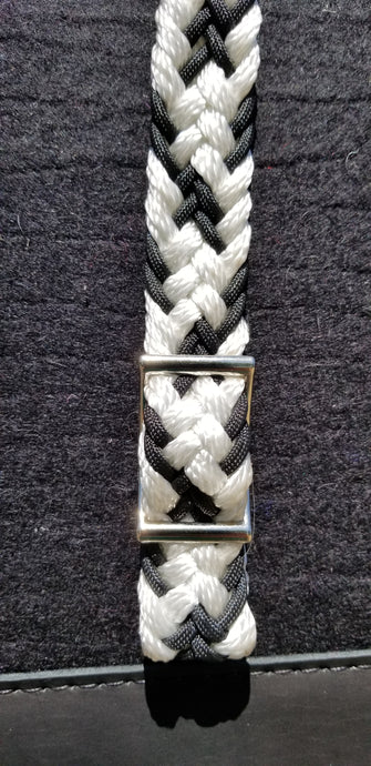 Gale Beebe Handmade Braided Nylon Barrel Reins
