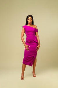 Effia Asymmetrical Dress