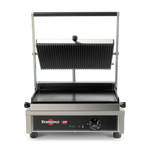 GECID4BO - Multi Contact Grill Medium - Ribbed plate top and smooth plate bottom - Krampouz