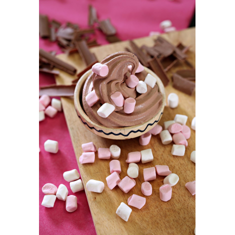 MM1 - Mini Mallows pink and white mix 1kg