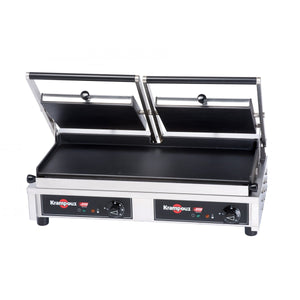 GECID5CO - Multi Contact Grill Large - Smooth plates top and smooth bottom - Krampouz