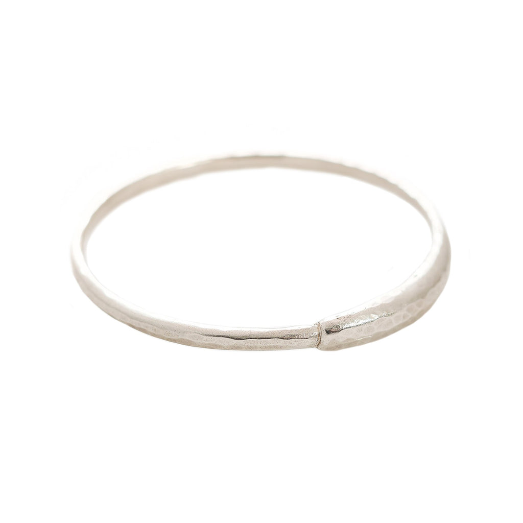 Ouroboros Sterling Silver Bangle