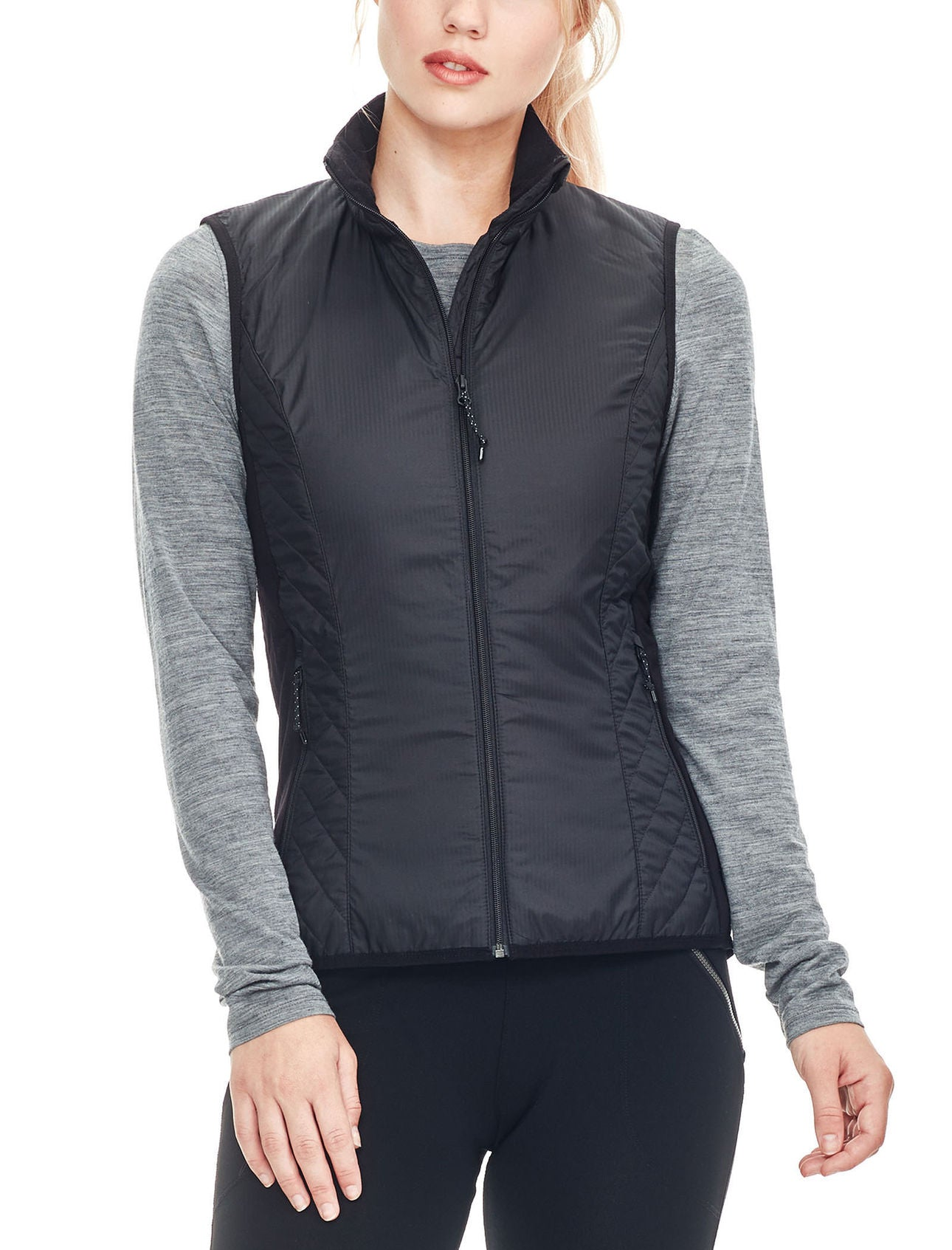 95fb1a554b Icebreaker Helix Womens Vest   Hickory and Tweed   New