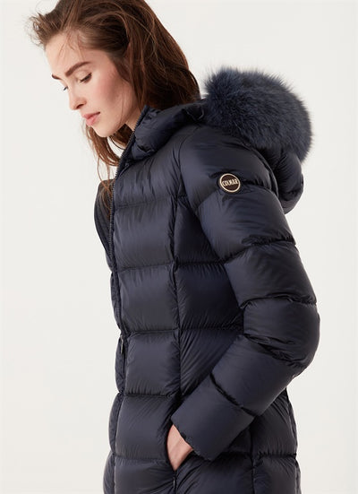 Colmar Glossy Long Down Jacket
