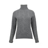 Alps and Meters Classic Cable Womens Sweater