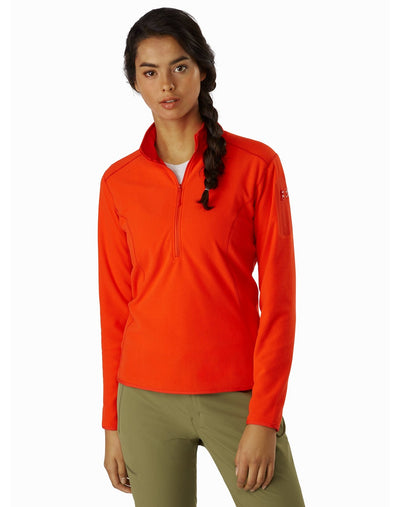 Arc'teryx Delta Womens Zip Neck Fleece