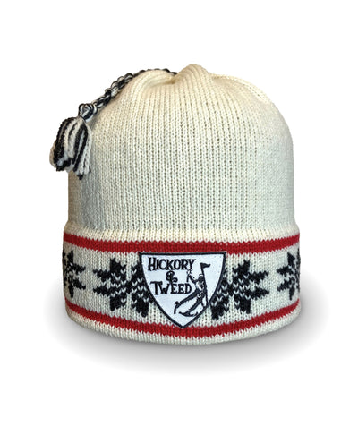H&T Nordic Tassel Moriarty Beanie