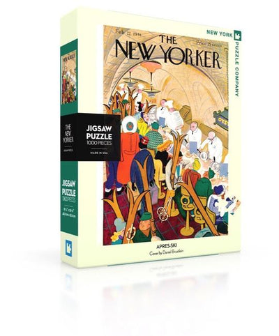 The New Yorker 1000 Piece Holiday Puzzle Set