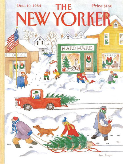The New Yorker 500 Piece Holiday Puzzle Set