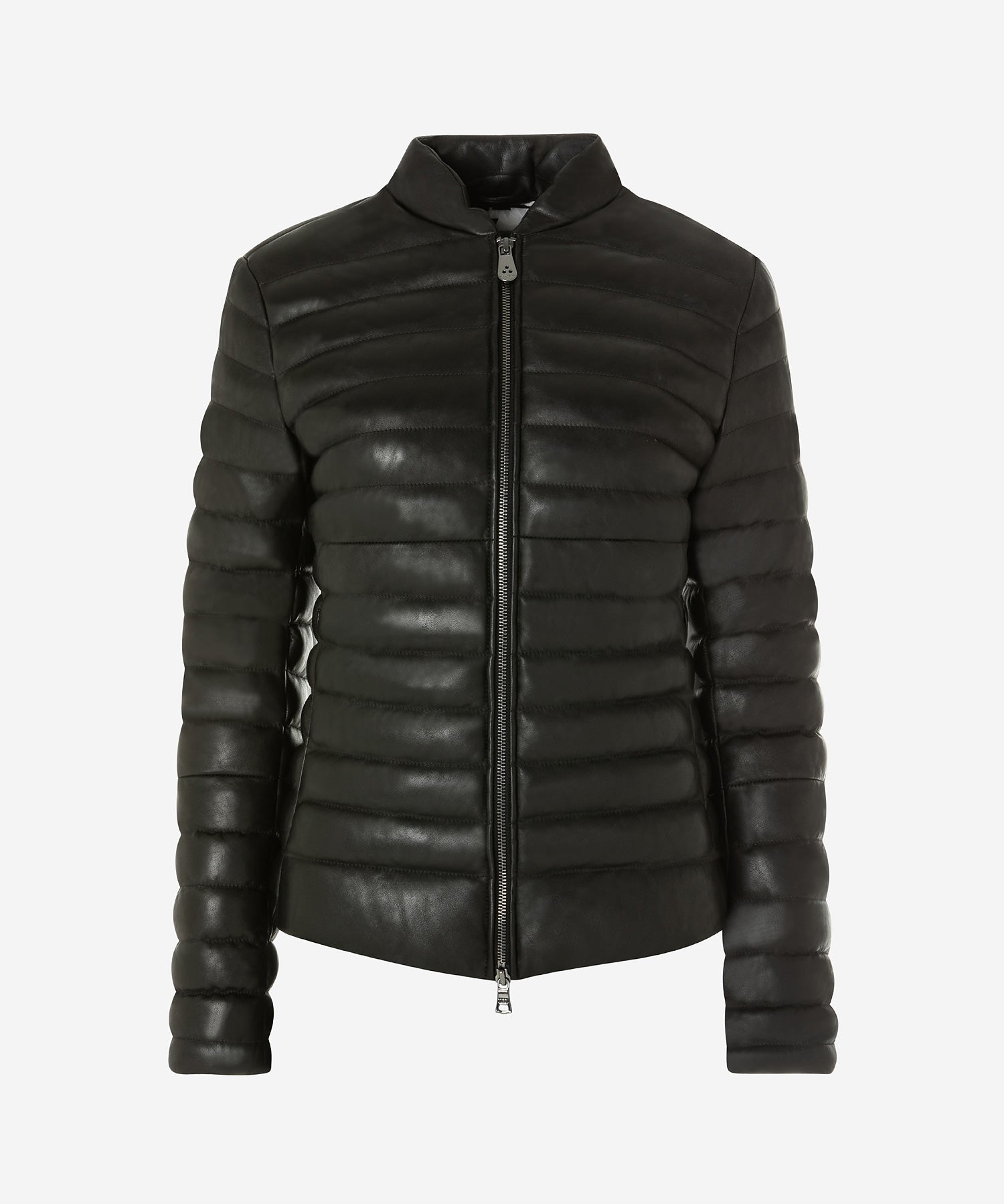 Peuterey Opuntia Womens Leather Down Jacket  3ebe7ada22a