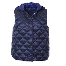 Bogner Coco-D Quilted Hooded Womens Vest