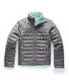 North Face Mossbud Swirl Reversible Girls Jacket