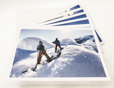 Hooey Mountain Ski Greeting Card Set