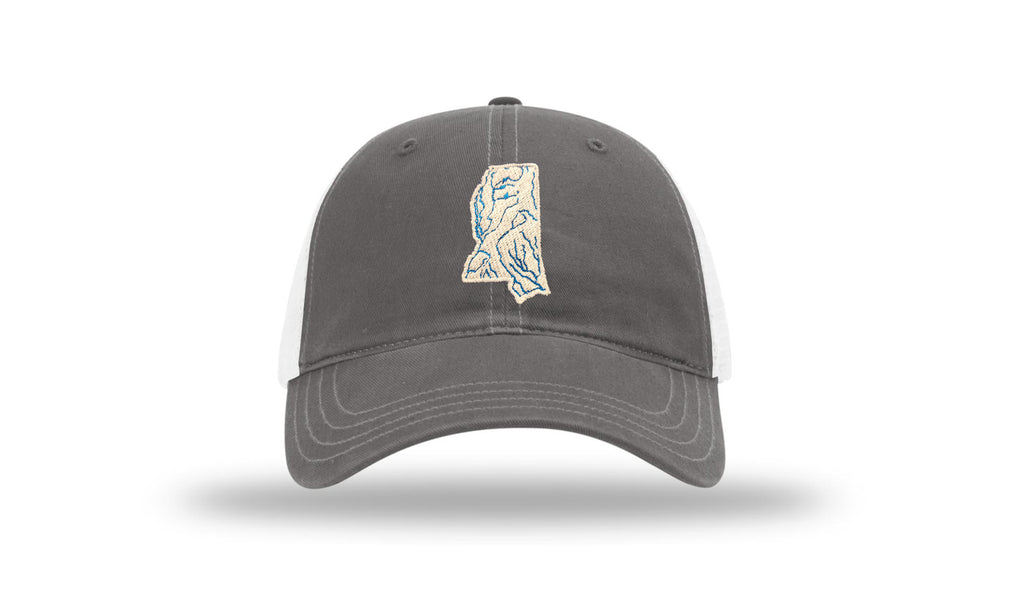 Mississippi State Waterways Trucker Hat