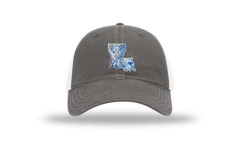 Louisiana State Waterways Trucker Hat