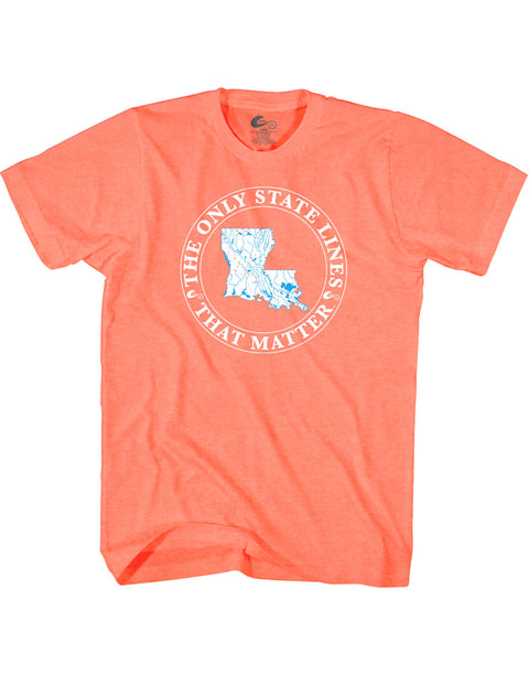 Louisiana State Waterways T-Shirt