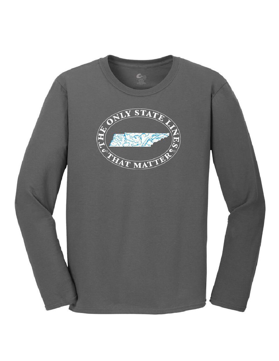 Tennessee State Waterways Long Sleeve T-Shirt