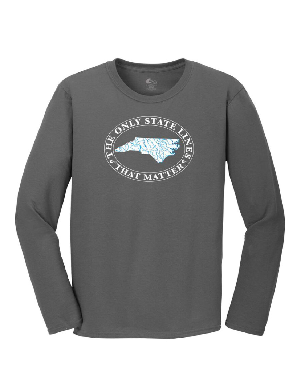 North Carolina State Waterways Long Sleeve T-Shirt