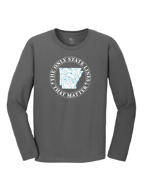 Arkansas State Waterways Long Sleeve T-Shirt