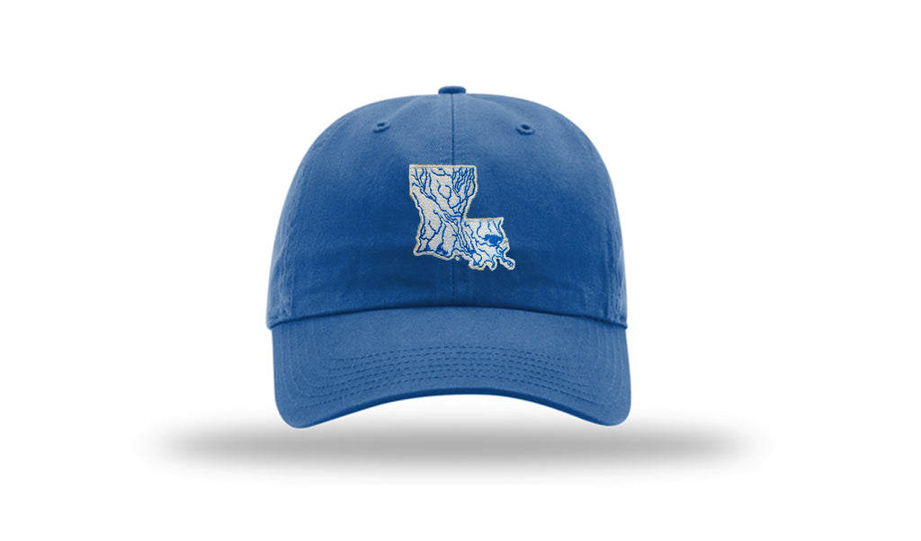 Louisiana State Waterways Cotton Hat