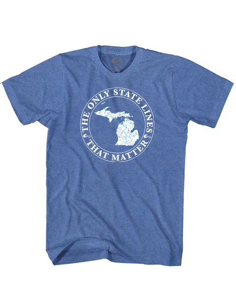 Michigan State Waterways T-Shirt