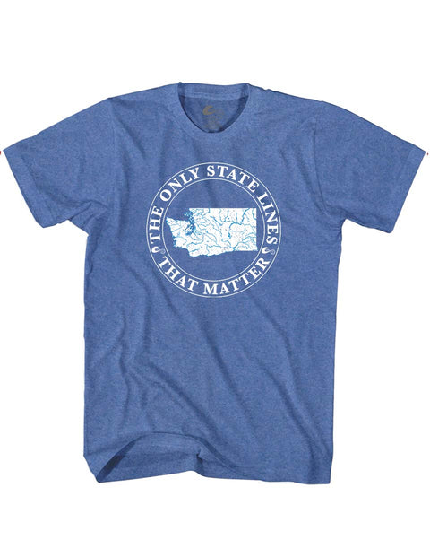 Washington State Waterways T-Shirt