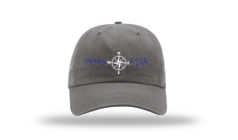Hydro High Dark Blue Compass Logo Cotton Hat