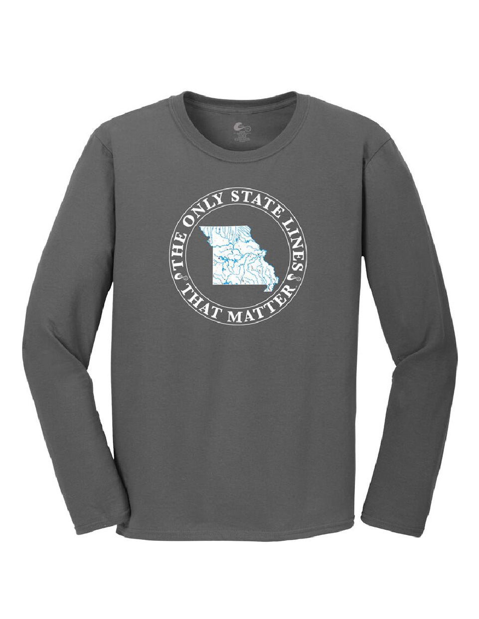 Missouri State Waterways Long Sleeve T-Shirt