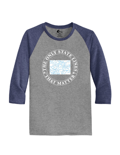 Colorado State Waterways Raglan Shirt