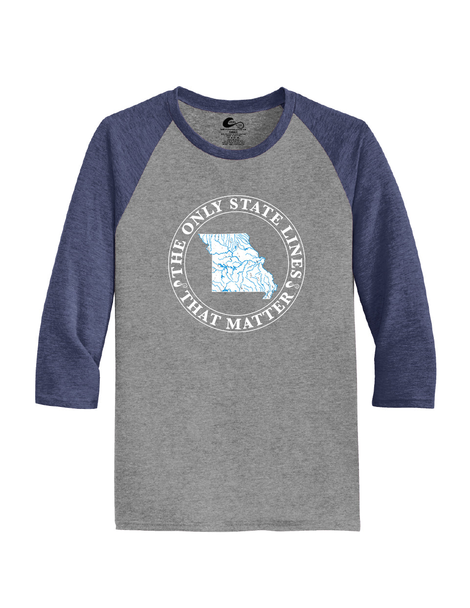 Missouri State Waterways Raglan Shirt