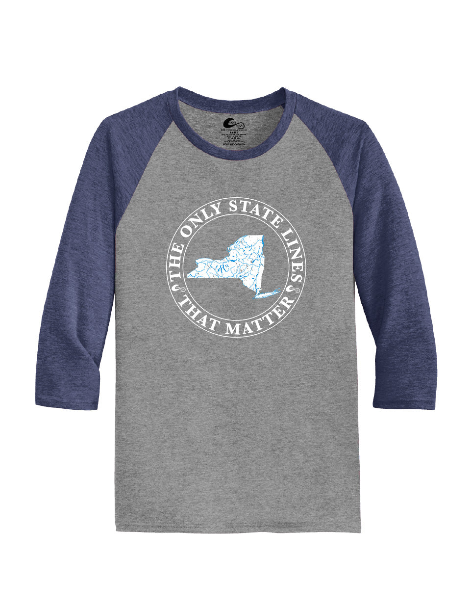 New York State Waterways Raglan Shirt