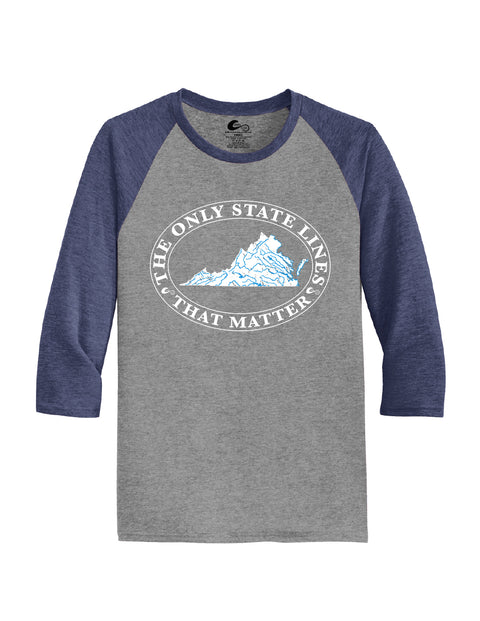 Virginia State Waterways Raglan Shirt