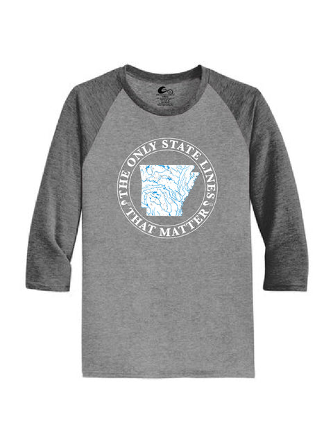 Arkansas State Waterways Raglan Shirt