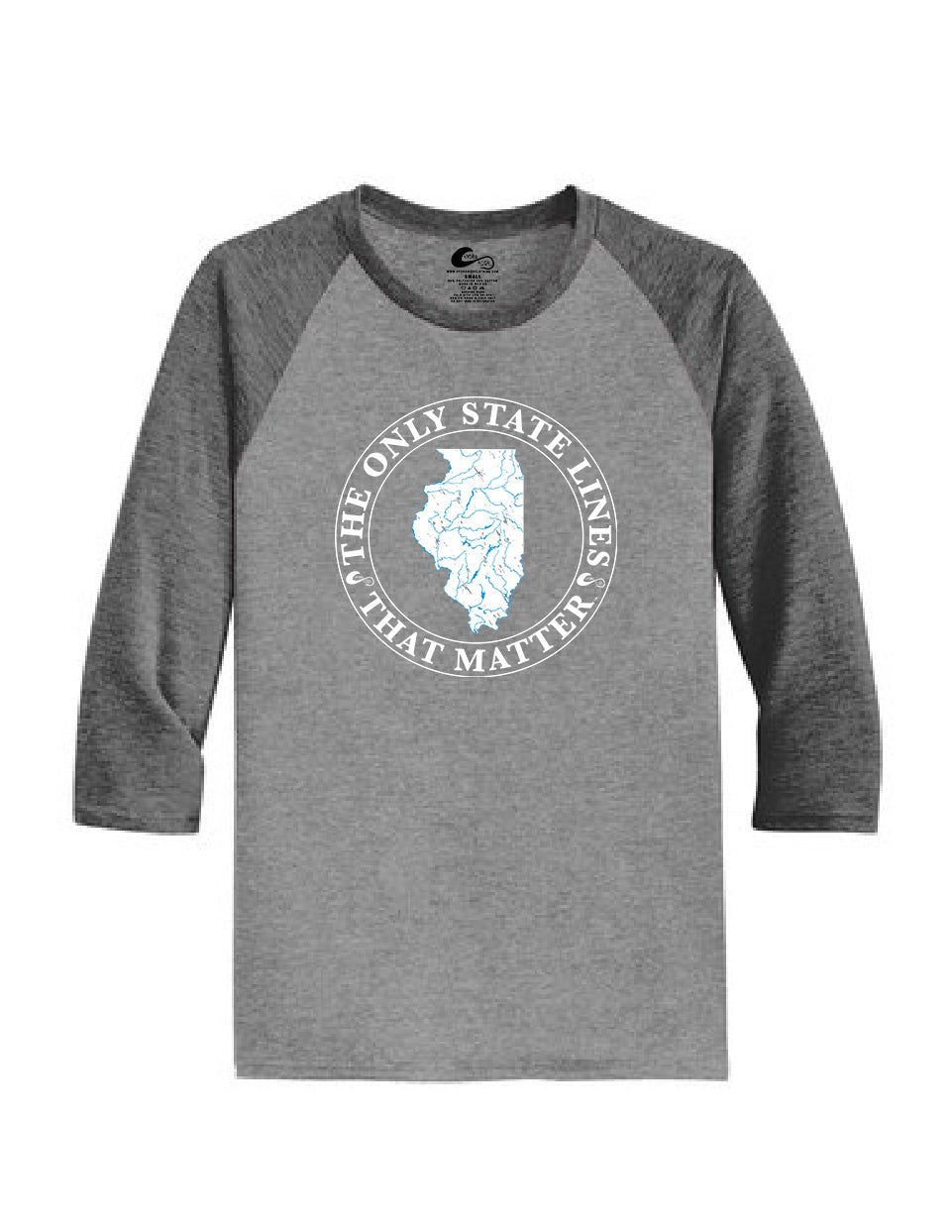 Illinois State Waterways Raglan Shirt