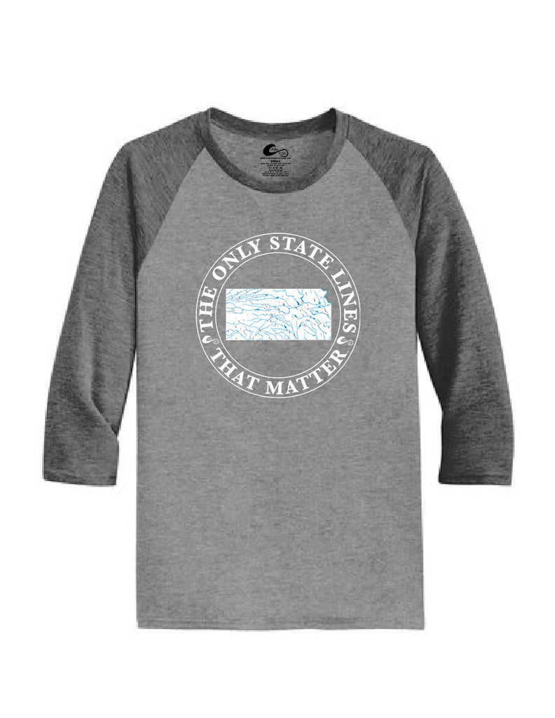 Kansas State Waterways Raglan Shirt