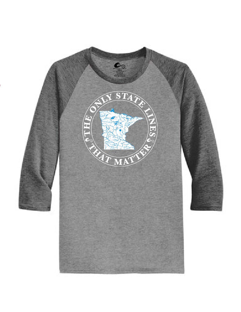 Minnesota State Waterways Raglan Shirt