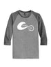 Hydro High Hook & Wave Logo Raglan