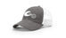 Hydro High White Hook & Wave Logo Trucker Hat