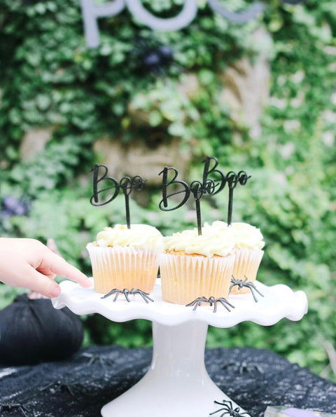Boo Cupcake Toppers