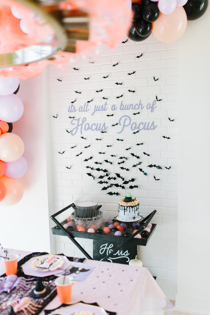 Hocus Pocus Backdrop Sign