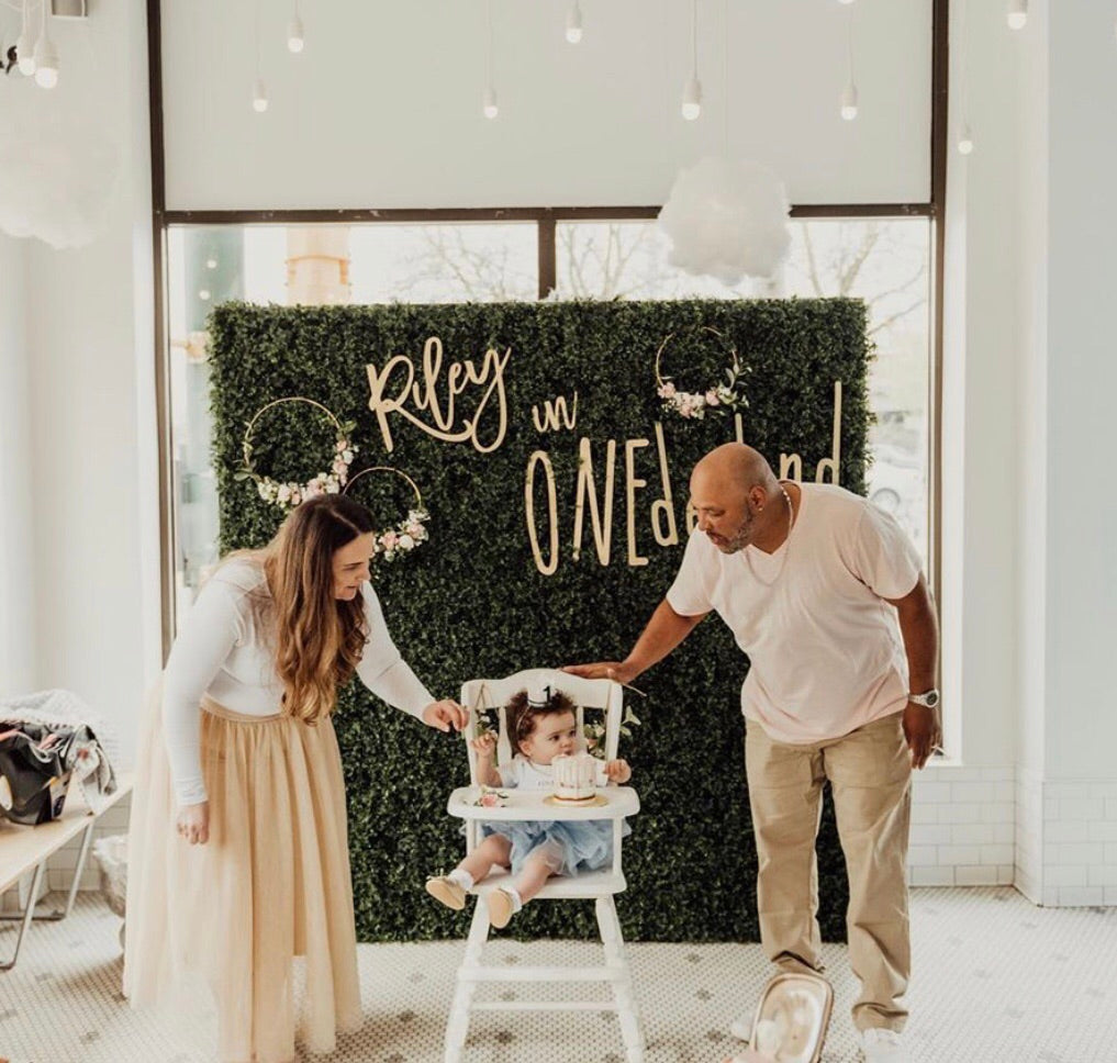 Custom Party Backdrop Sign