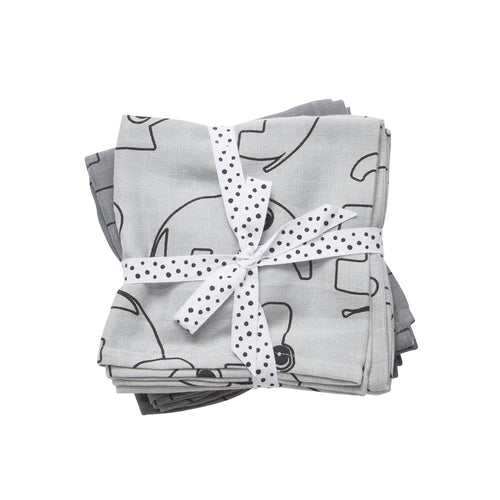 Pack of 2 swaddles - Grey