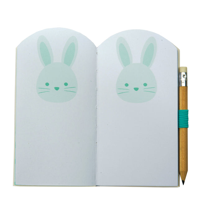 Bunny mini notebook