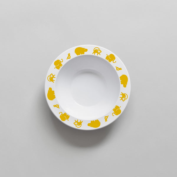 Bowl Wild Animals - Yellow