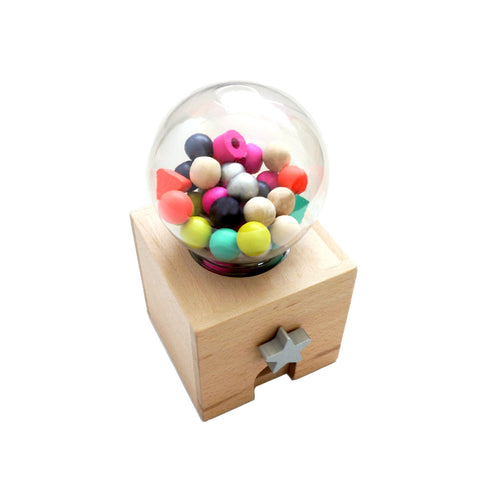 Wooden Gumball dispenser Gatcha Gatcha
