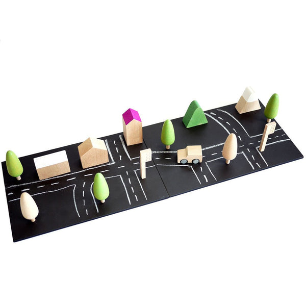 Kiko + - Machi mini town wooden toys
